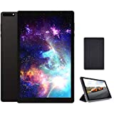 MOXNICE 10 inch Tablet 5G+2.4G WiFi with case, Octa-Core Tablet, Android 9.0 Pie, 3GB RAM, 32GB ROM, IPS Full HD1920x1200 Display, 5G WiFi, Frosted Metal Body (Black)