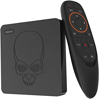 Android 9.0 TV Box Beelink GT King,RAM 4G LPDDR4 2800MHz/ROM 64G 3D EMMC ,Amlogic S922X Hexa-core,2.4G/5.8G WiFi BT4.1,4K 60fps,Supporta 2.4G Voice Remote Control