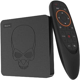 Beelink GT King TV Box Android 9.0 Memory 4GB Storage 64GB Amlogic S922X 6 Core Voice Remote Control 4K UHD USB3.0 HDMI HDCP 2.2 SPDIF AV Interface BT4.1 WiFi 2.4+5.8GHz