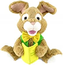Adorable Animated Talking Storytime Plush Bunny Rabbit, Reads Story of Peter Rabbit, Multicolor, 12