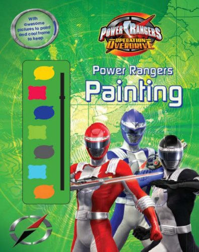 Power Rangers Operation Overdrive (Disney Paint Palette S.)