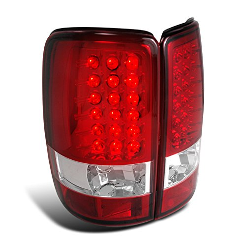 Spec-D Tuning LT-DEN00RLED-TM Gmc Chevy Yukon Denali Suburban Tahoe Led Red Tail Lights