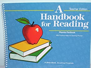 A Handbook for Reading Teachers 4th Edition Phonics Textbook a Beka Book Reading Program