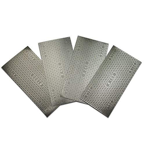 Diamant Sandpapier beschichtet Wabenersatz Schleifpapier Sandpapier Schleifpapier 150# 240# 400# 1000# K?rnung HT414-417, K?rnung 240