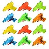 Twister.CK Pistola per Pistola per Schizzi d'Acqua per Bambini, 12 Pezzi di Acqua Blaster Soaker per...