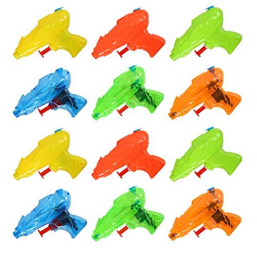 Twister.CK Pistola de Pistola de Agua para niños, 12 Piezas de remojo de Agua para Piscina de Verano Baño de Playa Juguetes