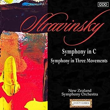 Stravinsky: Symphony in C - Symphony in Three Movements