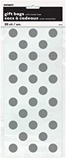 Unique Party Polkadot Cellophane Party Gift Bags (Pack Of 20)