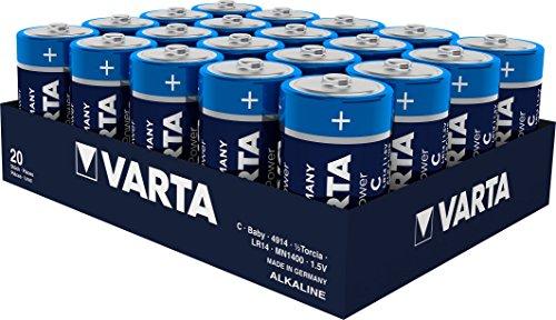 Varta 4914 High Energy Batterie LR14 Baby C in 12er Pack