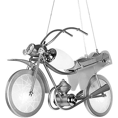 Moderne Motorfiets Hanglamp Cartoon Scooter Kroonluchter Lampenkap Autocycle LED Hangend Plafondlamp voor Meisje Keuken Slaapkamer Badkamer Binnen Woonkamer Kinderkamer Decor