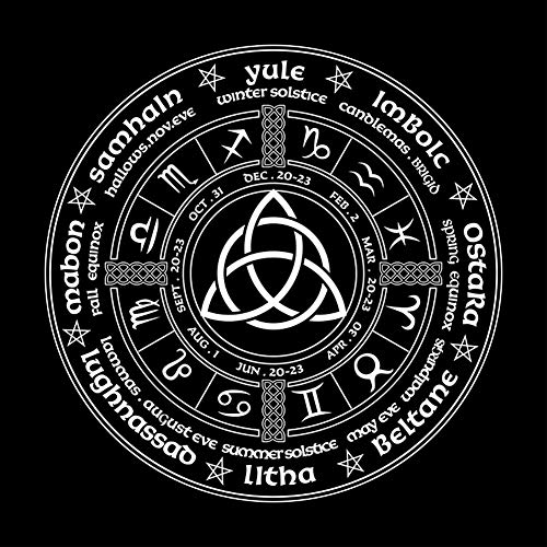 HLONGG 49X49cm Constelación Tarot Mantel Bruja Adivinación Altar Paño De Terciopelo Mat Juego De Mesa Astrología Oracle Tarjeta De Tarot del Cojín De Tela Suave Franela,1pcs