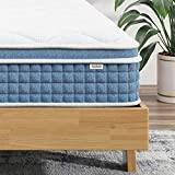 Twin Mattress - 8 Inch Hybrid Innerspring Mattress in a Box,Koorlian Cool Comfort Mattress with Breathable Soft Foam and Pocket Spring,Mattress-Twin Size,180 Night Trial