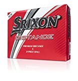 Srixon Distance Golf Balls, Soft White, One Dozen