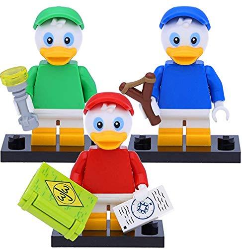 LEGO 71024 Disney Serie 2 Minifiguren: Tick #3, Trick #4 und Track #5