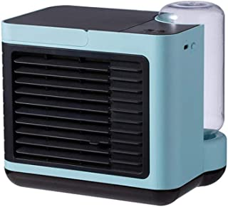 Mini Air Conditioner USB Mobile Air Cooler With Purifier, Humidifier Desktop Fan Cooling for Home, Office, Outdoor -blue