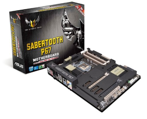 ASUS SABERTOOTH P67 LGA 1155 SATA 6Gbps and USB 3.0 Supported Intel P67 DDR3 1800 ATX Motherboard