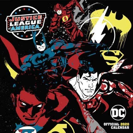 DC Comics 2020 Calendar - Official Square Wall Format Calend