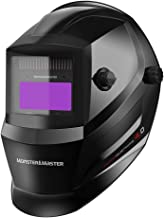 Monster&Master Large Viewing Screen Auto Darkening Welding Helmet, 2 Arc Sensor Wide..