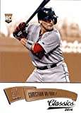 2014 Panini Classics #191 Christian Vazquez Baseball Rookie Card. rookie card picture