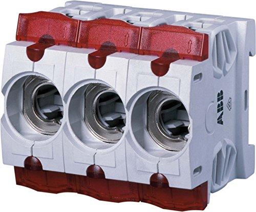 ABB Stotz S&J D0-Sicherungssockel ISS16/3 3-polig, 16A D0-Sicherungssockel 4016779655804