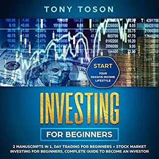 Investing for Beginners: 2 Manuscripts in 1 audiobook cover art