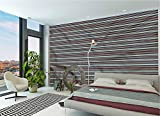 LCGGDB Tribal Large Wall Mural,Borders Self-Adhesive Large Wallpaper for Office Kids Bedroom Nursery Family Decor-96x66 Inch