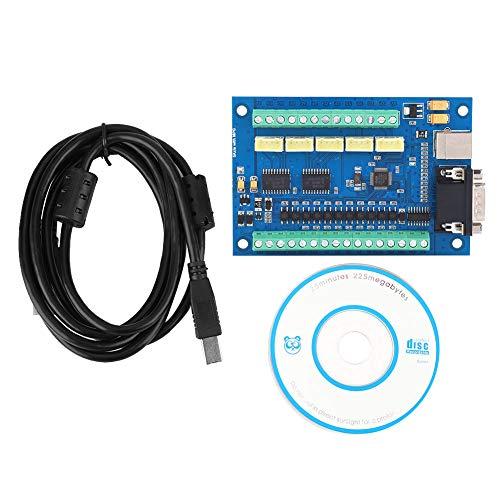 Changor Tarjeta de control de movimiento máximo, interruptor de origen, bucle cerrado máximo 100 kHz, controlador de movimiento de 5 ejes, plástico
