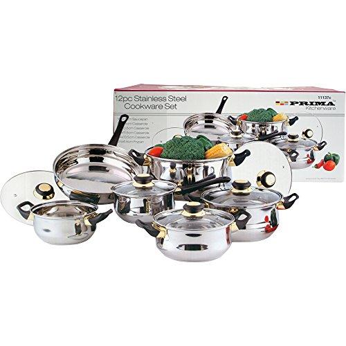 Prima 12pc Cookware S