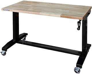 Husky 46 in. Adjustable Height Work Table