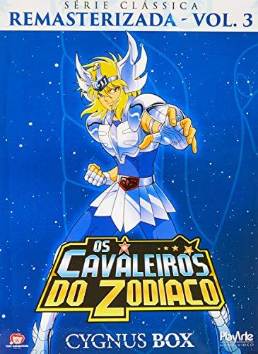 Playarte Pictures Os Cavaleiros Do Zodiaco Serie Classica Remasterizada, Volume 3 Cygnus Box [DVD], 5 DVDs