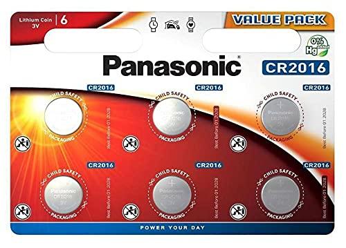Pilas Cr2016 Marca Corp. Panasonic