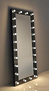 Led lightning mirror