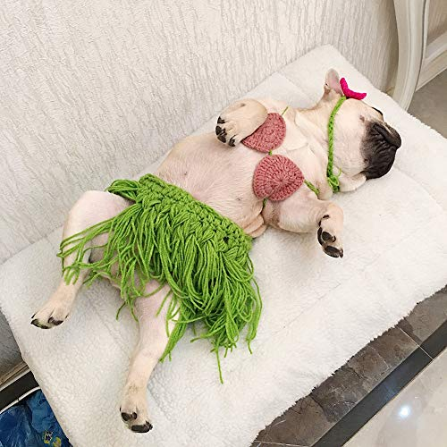 RONSHIN Grappige Huisdier Bikini Gras Rok Cosplay Kostuum foto Prop voor Honden Franse Bulldog Corgi