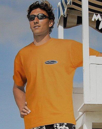 Maui Beach T-Shirt/Tee Hawai orange - Gr. M
