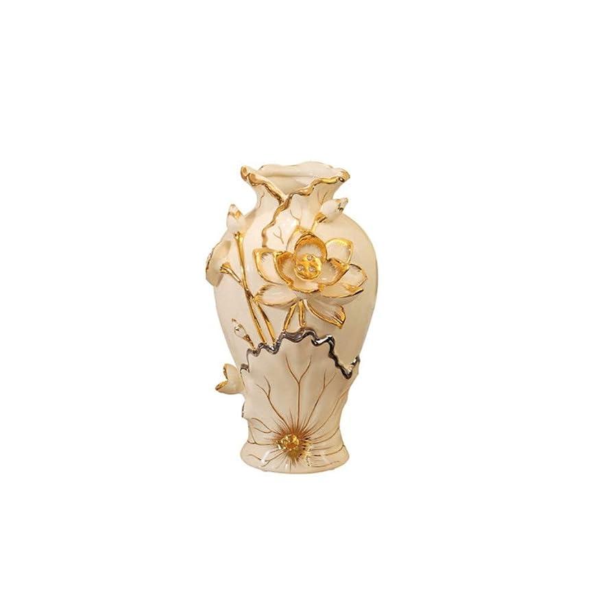変装乳白色郵便物花瓶、創造花瓶、セラミック花瓶、ミニマリストスタイルホームオフィス装飾花瓶。(ベージュ、39×21×14センチメートル) オフィス装飾花瓶