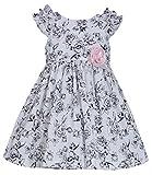 Bonnie Jean Little Girls' Shoulder Ruffle Poplin Toile Dress 2T