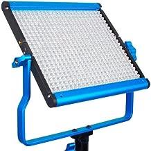 Dracast DRSPPL500BN S Series Plus Bi-Color LED500 Panel with 2 NPF Battery Plates, Blue