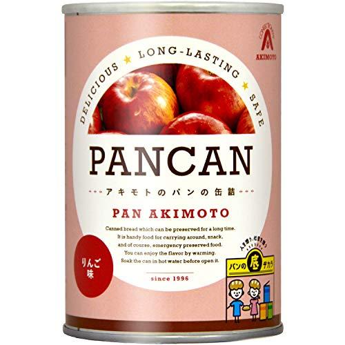 パン・アキモト PANCAN りんご味6缶セット 600g