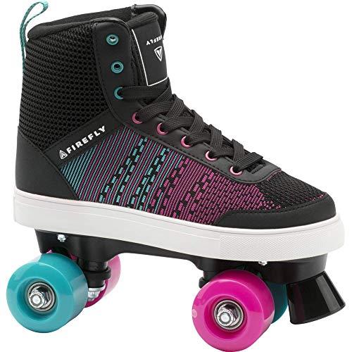 Firefly Unisex-Kinder Rsk 510 Skateboardschuhe, Schwarz (Black/Blue/Pink Dark 901), 35 EU