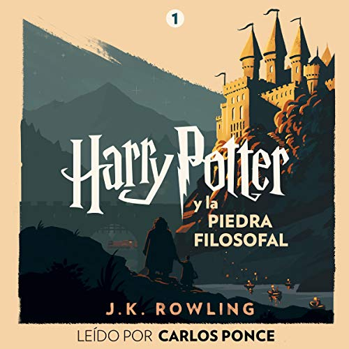 Harry Potter y la piedra filosofal (Harry Potter 1) cover art