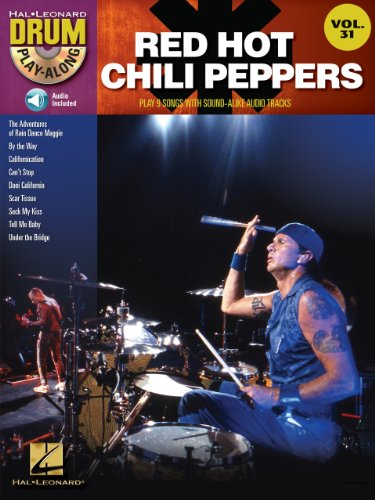 Red Hot Chili Peppers (Songbook): Drum Play-Along Volume 31 (English Edition)