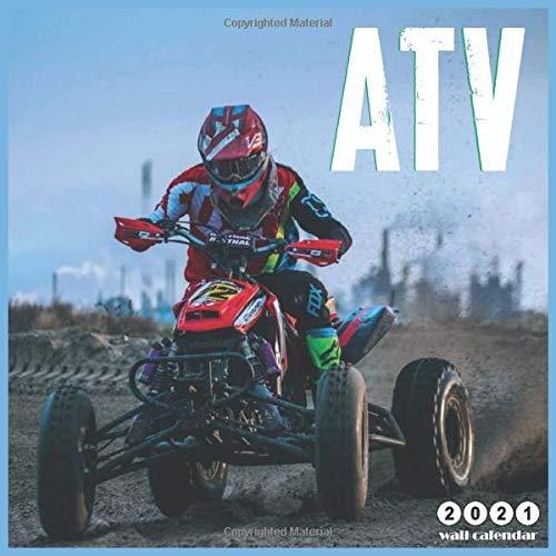 ATV 2021 wall calendar: 18 Months Wall Calendar 2021, Moto quad Lovers
