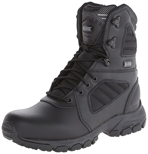 Magnum Men's Response III 8.0 Side-Zip Slip Resistant Work Boot,Black,11 M US
