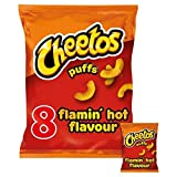 Cheetos Flamin Caldo 8 Patatine Pack 8 X 13g