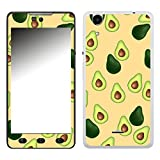 Disagu SF-106574_1123 Design Folie für Wiko Rainbow Lite - Motiv Avocados Muster orange