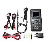 Osciloscopios Digitales, Akozon Osciloscopios portátiles Hantek 2D72 / 2D42 70MHz / 40MHz 2CH Osciloscopio Digital Profesional 25M Generador de señal AC100-240V (Hantek2D72)
