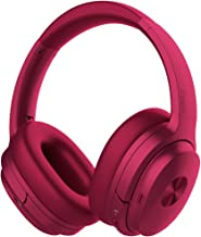 COWIN SE7 Active Noise Cancelling Headphones Bluetooth Headphones Wireless Headphones Over Ear with Microphone/Aptx, Comfortable Protein Earpads, 50 Hours Playtime for Travel/Work, Purple
