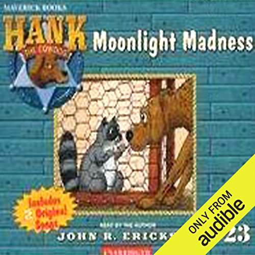 Moonlight Madness audiobook cover art
