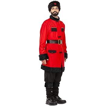 Disfraz rusa cosaco invernal de vestuario discotecas traje cosacos ...