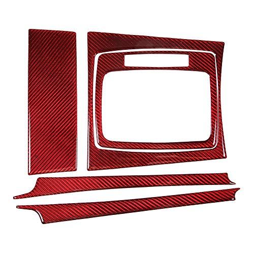 KIMISS 5er Gear Panel Cover Dekoration Left Drive Carbon Fit für W204 C Klasse 07-13